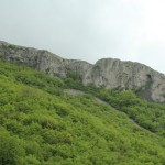 Rock cliffs in Kotel Mountain