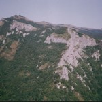 Zlosten Cliffs in Kotel Mountain