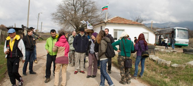 Vulture information Centre in Rakitna has over hosted three hundred visitors for the last four months