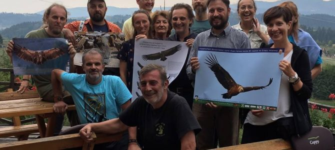 Vulture Expert's Meeting in Uvac Gorge