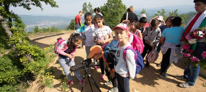 May is the month for nature education in Kresna Gorge